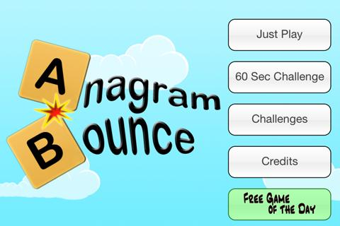 Anagram Bounce Free