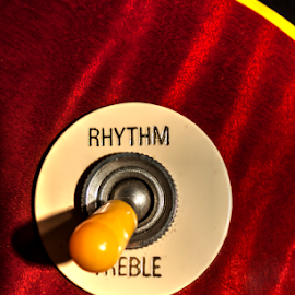 Get Rhythm  by Dave Burke - Artistic Objects Musical Instruments ( selector, sunburst, les paul, gibson, switch, guitar, pick up,  )