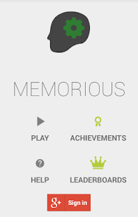 Memorious - Memory Brain Game - screenshot