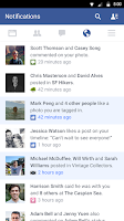 Screenshot of Facebook