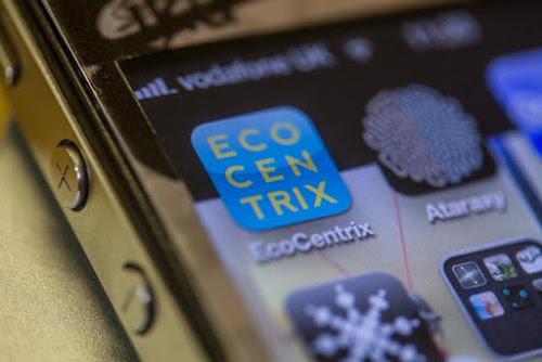 <p> EcoCentrix iOS app</p>