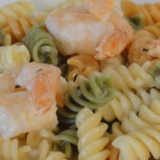 Buttery Shrimp And Pasta