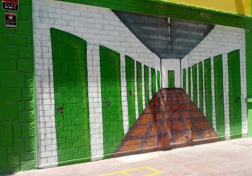 Trasteros en la pared
