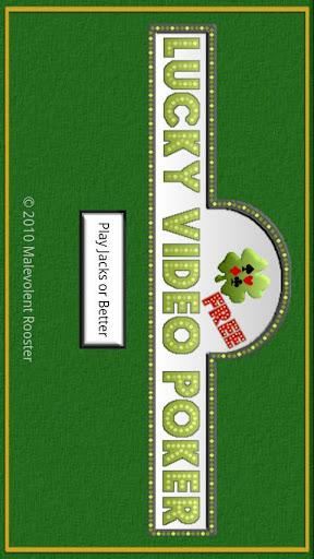 Lucky Video Poker Free