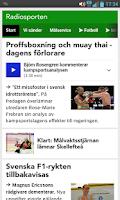 Screenshot of Sport/Radiosporten (bokmärke)