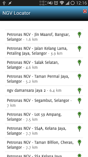 ngv-locator for android screenshot