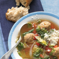 Light Italian Wedding Soup