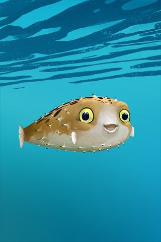 Blowfish - Live Wallpaper