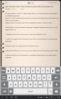 Screenshot of Groovy Notes for Tablets