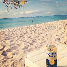 Cerveza en la Playa by Tara Bauman - Food & Drink Alcohol & Drinks (  )