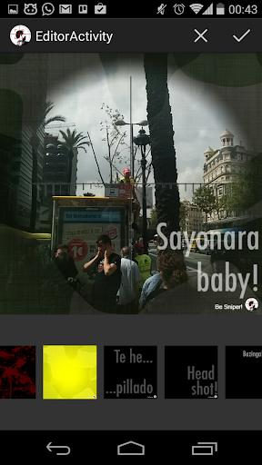 Be Sniper Camera Ads - screenshot