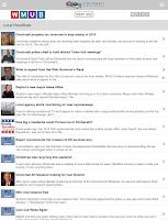 Screenshot of WMUB Public Radio App