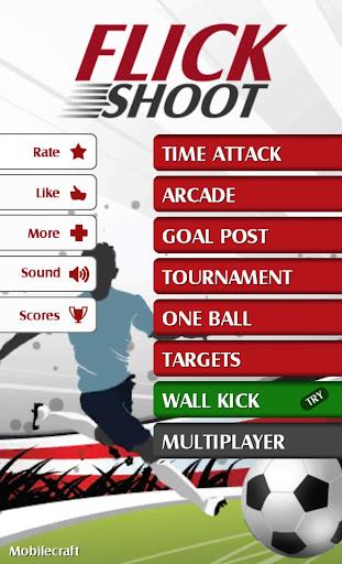 Flick Shoot (Soccer Football) - screenshot