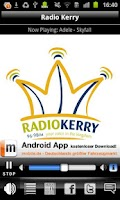 Screenshot of Radio Kerry
