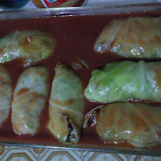 Polish Stuffed Cabbage Rolls (Golabki / Golumkies / Golumpkis)