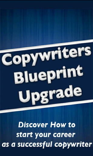 Copywriters Blueprint Upgrade