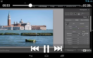Screenshot of Lightroom 4 100