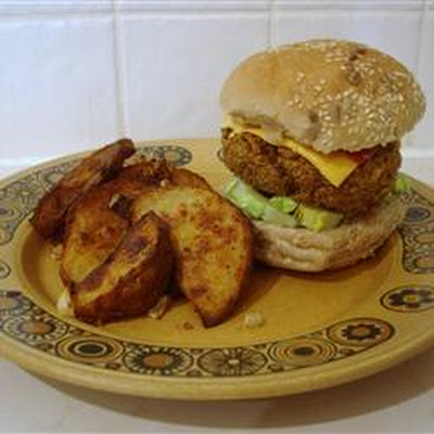 Carrot Rice Nut Burger