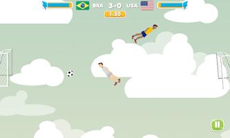 Screenshot of Sky Soccer Free Football Game