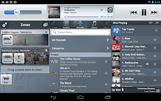 Screenshot of NuVo Player
