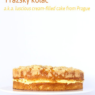 Cream-Filled Cake from Prague