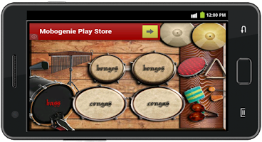 Screenshot of Percussion Instrument