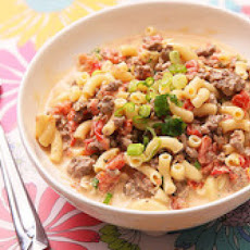 Cheeseburger Macaroni and Cheese