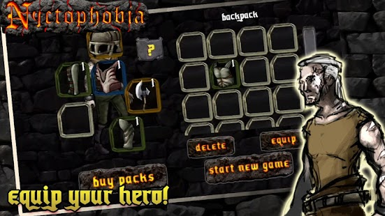 Nyctophobia: Monster Fight RPG - screenshot