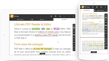 Screenshot of PDF Max 4 - The PDF Expert!