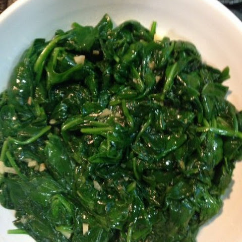 Stir Fried Spinach