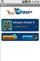 Screenshot of Hadise Şarkıları