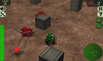 Screenshot of Crazy Tanks