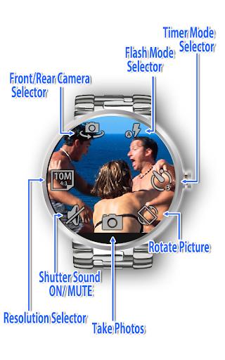 Remote Shot for Moto 360 - screenshot