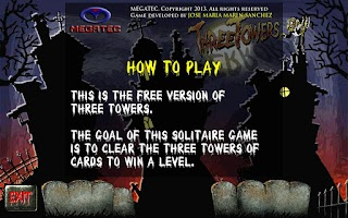 Screenshot of Three Towers Solitaire Free