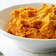 Smashed Spiced Sweet Potatoes