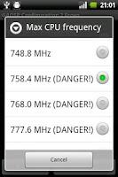 Screenshot of GAOSP Config 2.1
