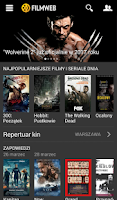 Screenshot of Filmweb