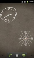 Screenshot of Scribble Clock