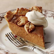 Bourbon-Pecan Pumpkin Butter Pie