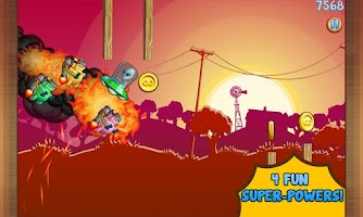Screenshot of Jetpack Piggies Bros