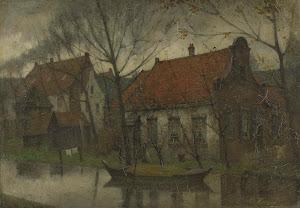 RIJKS: Eduard Karsen: painting 1900