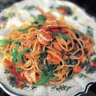 Shrimp Spaghetti With White Sauce Recipes