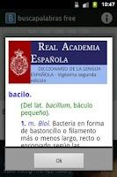 Screenshot of Buscapalabras-free