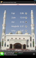 Screenshot of UAE Prayer Timings (Times)