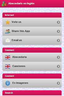 Abecedario en Ingles - screenshot