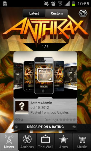 Anthrax: Army