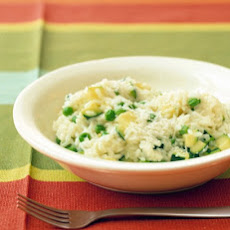 Spring Risotto with Peas and Zucchini