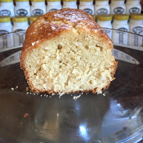 Lemon Pound Cake using Essential Oil