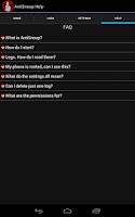 Screenshot of Anti Snoop Free