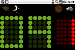 Screenshot of Bbuzz, basketball buzzer